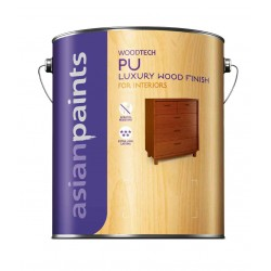 Asian Paints WoodTech PU Interior Matt Clear 4L