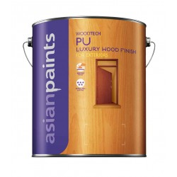 Asian Paints WoodTech PU Exterior Glossy Clear 4L
