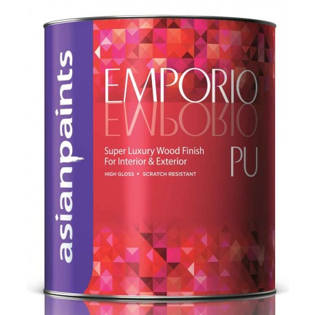 Asian Paints Emporio PU Clear Glossy 1L