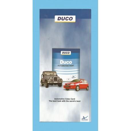 Duco Shade Card