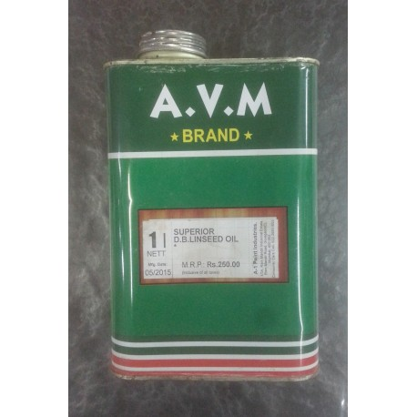 AVM Linseed Oil - Double Boiled