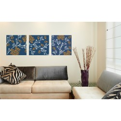Floral Fusion - Asian Paints Wall Fashion Stencil