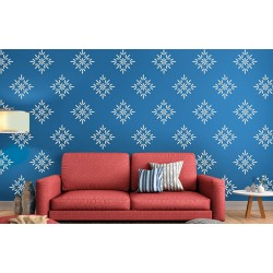 Buds and Blossoms - Asian Paints Wall Fashion Stencil