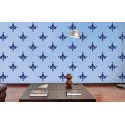 Water Lily - Asian Paints Wall Fashion Stencil