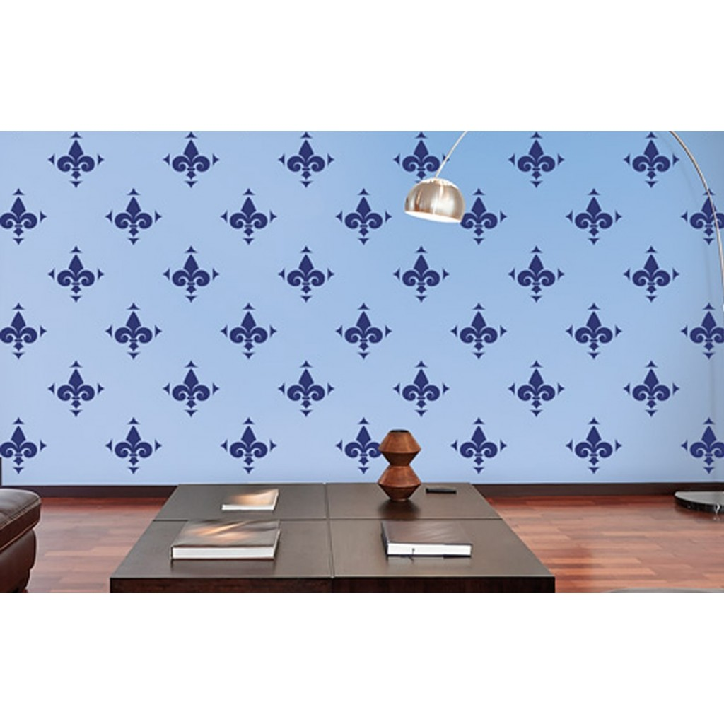 Water Lily Asian Paints Wall Fashion Stencil Buy Online