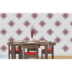 North Star - Asian Paints Wall Fashion Stencil