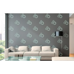 Wheels of Fortune - Asian Paints Wall Fashion Stencil