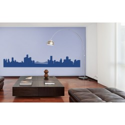 Metropolitan Skies - Asian Paints Wall Fashion Stencil