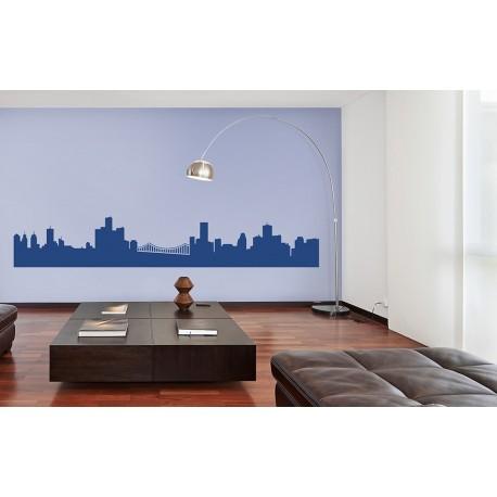 Metropolitan Skies - Asian Paints Wall Fashion Stencil