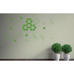 Honey Harvest - Asian Paints Wall Fashion Stencil