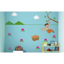 Chhota Bheem Stencil Kit with Paint and Tools - Quest for Ladoos